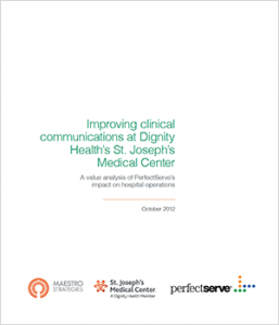 Improving clinical communications at St. Joseph's Medical Center whitepaper