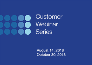 customer webinar series