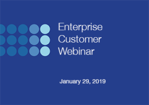 January enterprise customer webinar